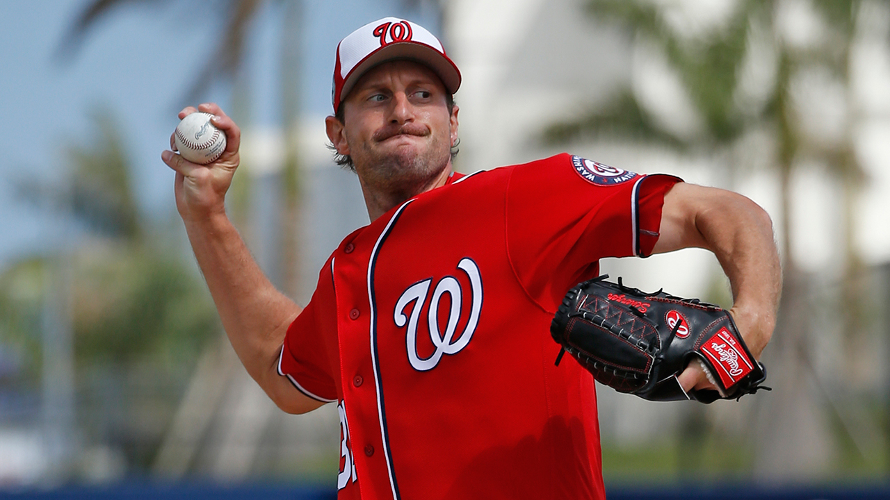 Nats exercising caution with Scherzer